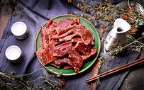 内蒙古风干牛肉图片