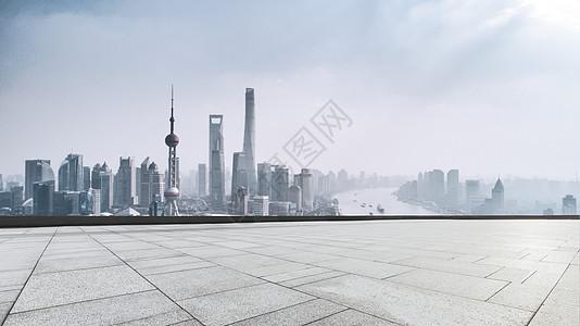 上海城市路面背景图片