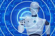 人工智能AI背景图片