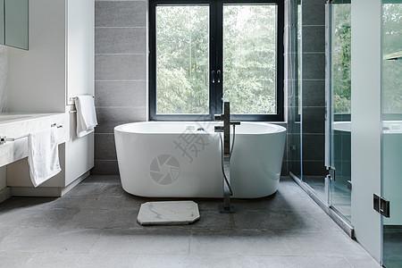 室内浴室浴缸图片