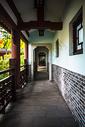 古典园林景观走廊图片