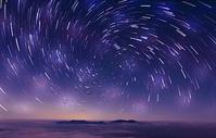 星空星轨背景图片