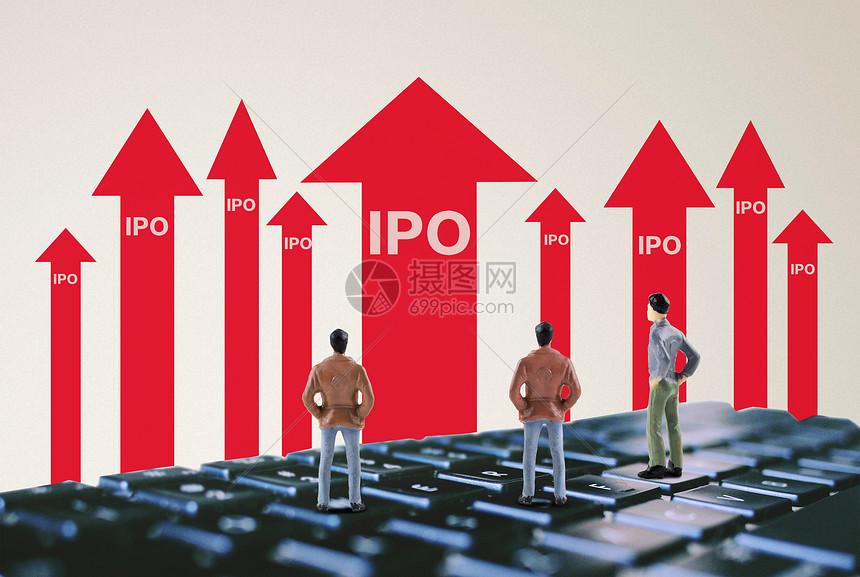 新股IPO创意图图片