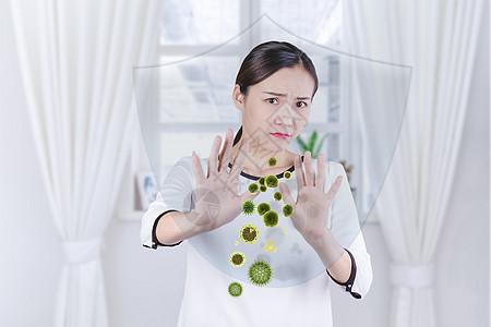 抵抗细菌入侵图片