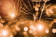 新年烟花背景图片