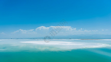 茶卡盐湖图片