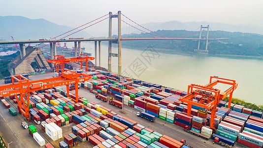 物流运输港口码头图片