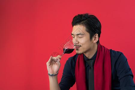 男性手拿红酒杯图片素材 免费下载 jpg图片格式 VRF高清图片