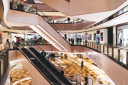 商场购物中心室内环境图片