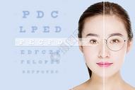 激光视力矫正前后图片