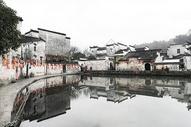 安徽宏村中国水墨画风光500769297图片