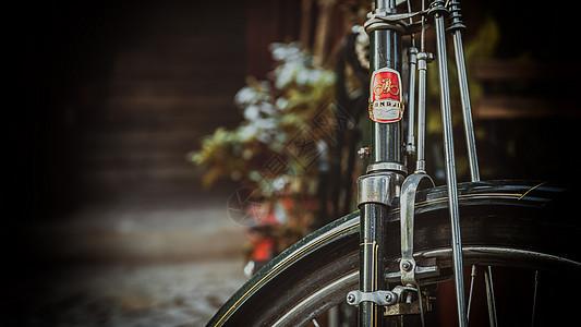 怀旧自行车图片
