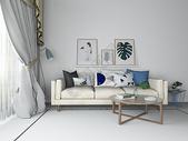 现代简约沙发效果图图片
