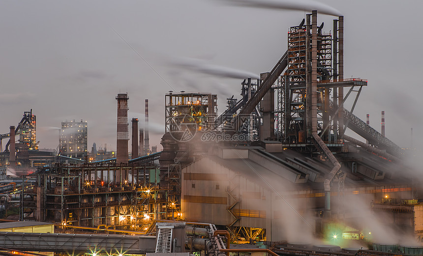 化工厂_高炉高清图片下载-正版图片500769927-摄图网