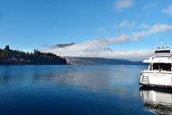 新西兰皇后镇湖泊码头图片