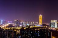 郑州城市建筑夜景图片