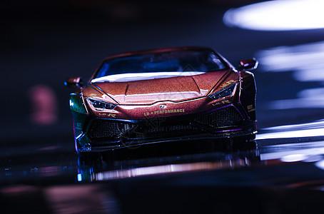 炫酷跑车模型图片
