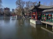 北京大观园的冬天景色图片