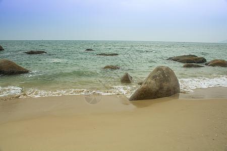 三亚天涯海角海边图片