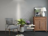单椅柜子组合效果图图片