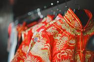 中式新娘礼服图片