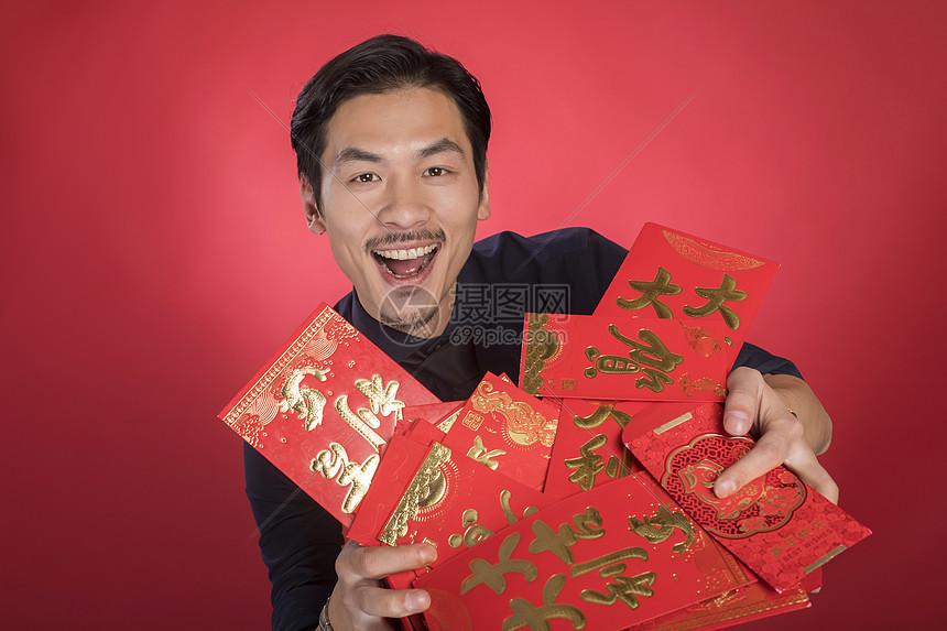 新年商务人像图片