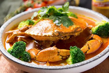 泰式咖喱蟹图片