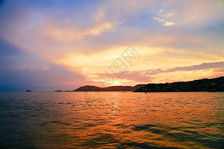 杭州西湖景区一角图片