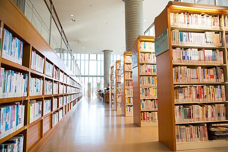 图书馆内部环境高清图片图片