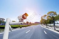 道路交通网络信息安全监控图片