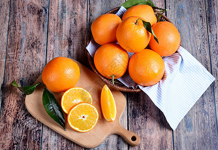 橙子橘子图片