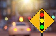 道路标志指示牌图片