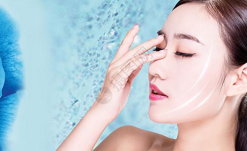 美容护肤海报图片