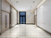 走廊大堂效果图图片