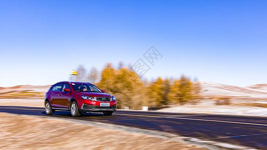 运动的车子图片