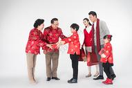 新年春节给长辈送礼图片