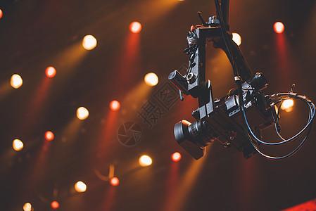 演唱会现场的摄像机图片