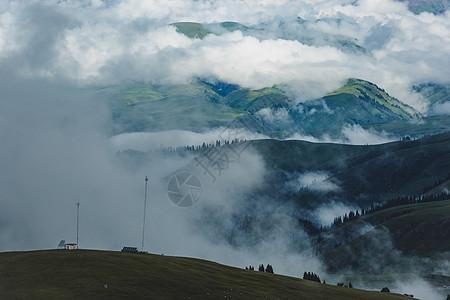 那拉提云海图片