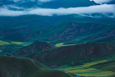 青海卓尔山图片