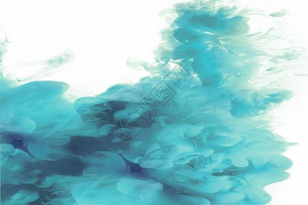 彩色水下烟雾图片