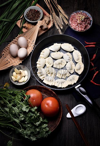 肉饺子图片