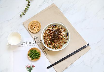 海参早餐糯米饭图片