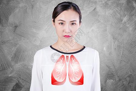 呼吸肺部健康图片