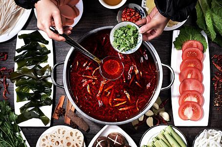 火锅汤料图片