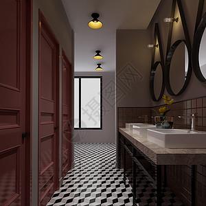 浴室室内效果图图片
