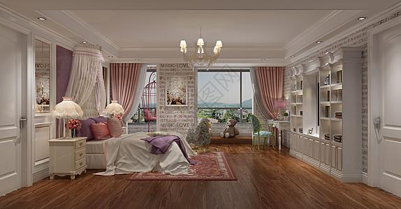卧室室内效果图图片