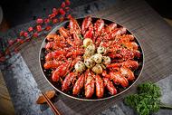 麻辣龙虾干锅图片