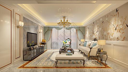 客厅室内效果图图片