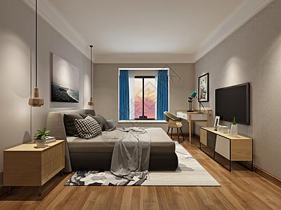 臥室室內效果圖高清圖片