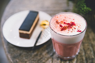 网红咖啡馆玫瑰咖啡图片
